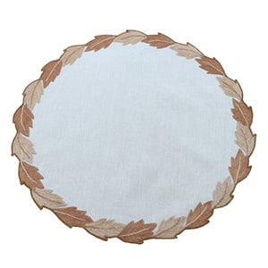 Toalha de bandeja cairel redondo