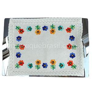Toalha de Bandeja Cairel Flor Verão