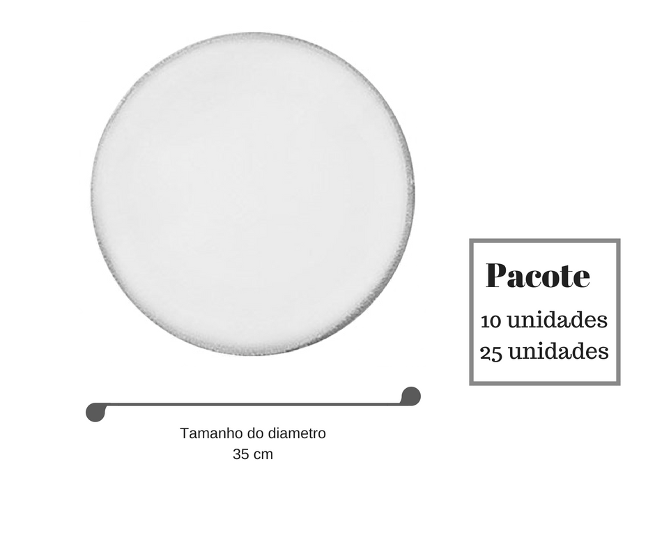 lenço organza 35 cm