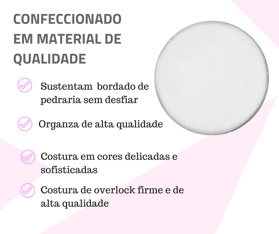 lenco organza material