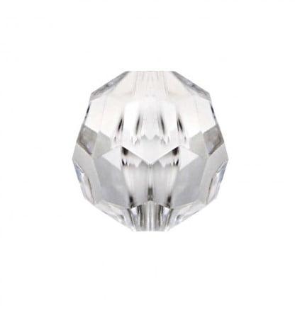 Conta acrílica sextavada - 8 mm - 500 gramas