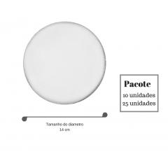 Lenço de organza - 17 cm