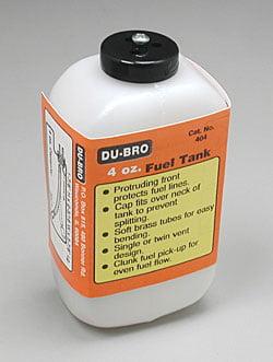 DUBRO - TANQUE DE COMBUSTIVEL 4oz DUBR 404 (120CC)