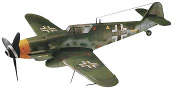 Messerschmitt BF109G - 1/48 CÓDIGO: REV 855253