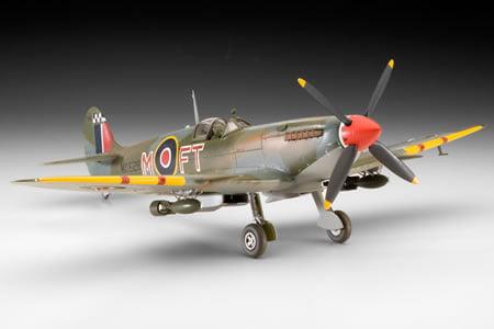 Supermarine Spitfire Mk.IX/XVI - 1/48 CÓDIGO: REV 04554