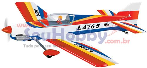 AEROMODELO Kit ARF LASER 40-55 - PH037 - PHOENIX