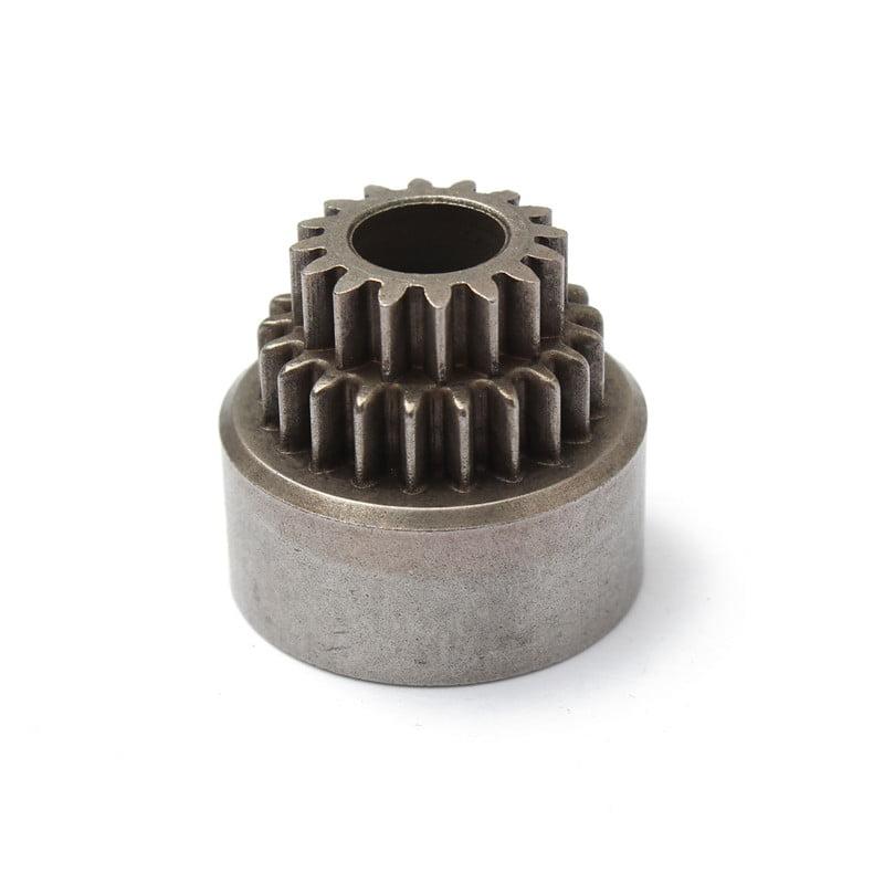 HIMOTO / HSP CLUTCH BELL DOUBLE GEAR ENGINE GEAR SET 1/10 02023 1P