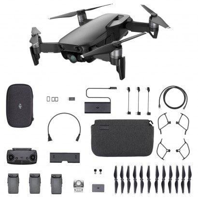 DJI - Combo Drone DJI Mavic Air Fly 12 Megapixels CMOS Preto