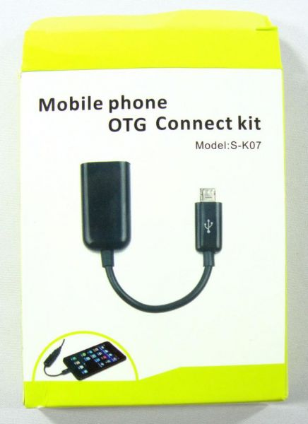 CABO OTG OTG MICRO USB HOST (S-K07) para Samsung Galaxy S2 /