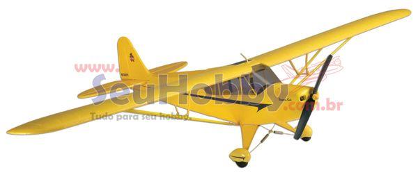 AEROMODELO HOBBICO  PIPER SUPER CUB RX-R C/ MOTOR - 48