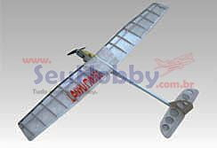 AEROMODELO LANYUHOBBY  PLANADOR POP ANGEL EP 1054MM