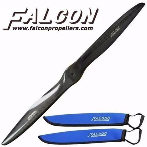 HELICE FIBRA DE CARBONO FALCON 31X12 GAS BLADE PROPELLER