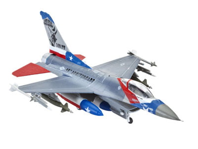 F-16C Fighting Falcon - 1/144  CÓDIGO: REV 03992