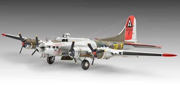 Fortaleza voadora B-17G - 1/72 CÓDIGO: REV 04283
