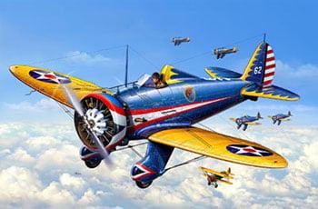P-26A Peashooter - 1/72 CÓDIGO: REV 03990