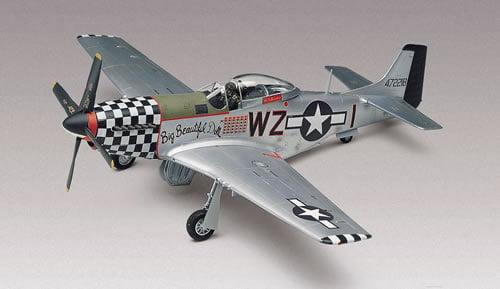 P-51D Mustang - 1/48 CÓDIGO: REV 855241