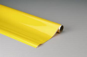 TOP FLITE - Plástico termoadesivo Monokote (66 x 182 cm) - Amarelo - MONOKOTE YELLOW - TOPQ 0203