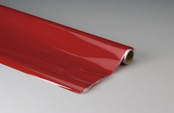TOP FLITE - Plástico termoadesivo Monokote (66 x 182 cm) - Vermelho escuro - MONOKOTE DARK RED - TOPQ 0218