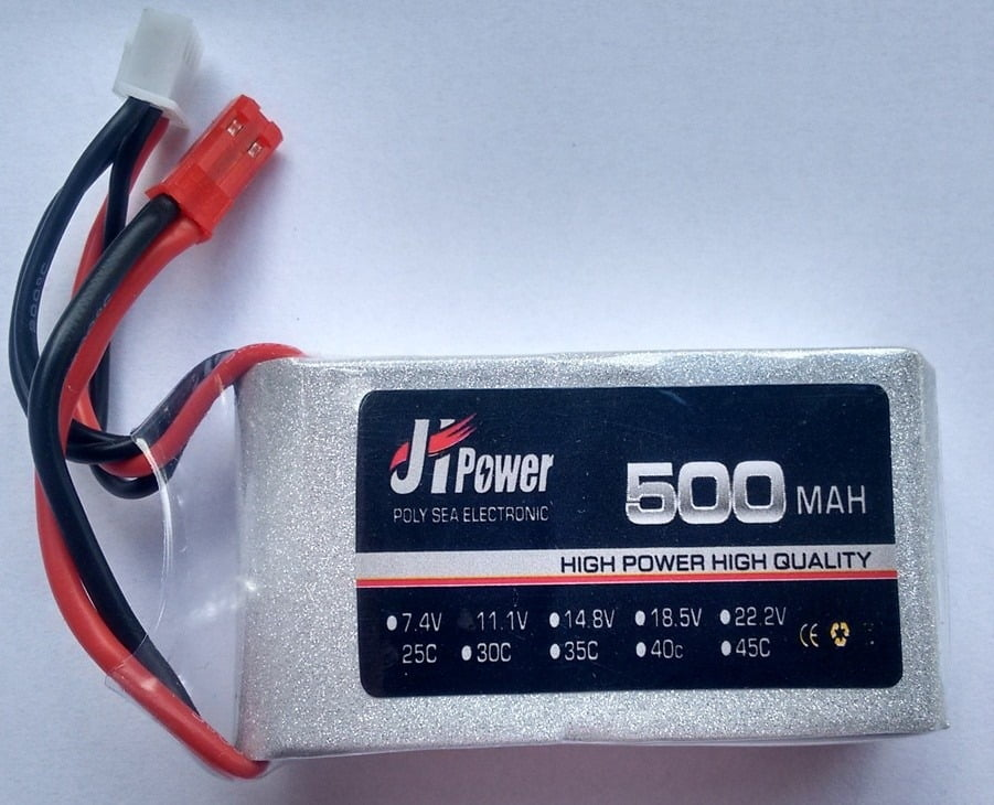 Jhp5001125 - Bateria Lipo 500mah 11.1v 25c