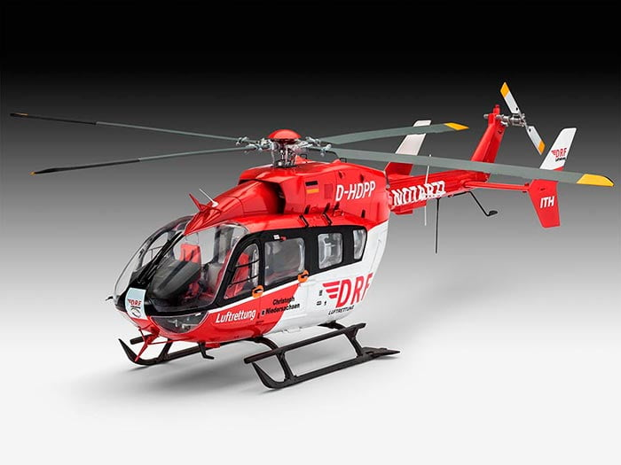 Helicópteros Airbus EC145 DRF Luftrettung - 1/32