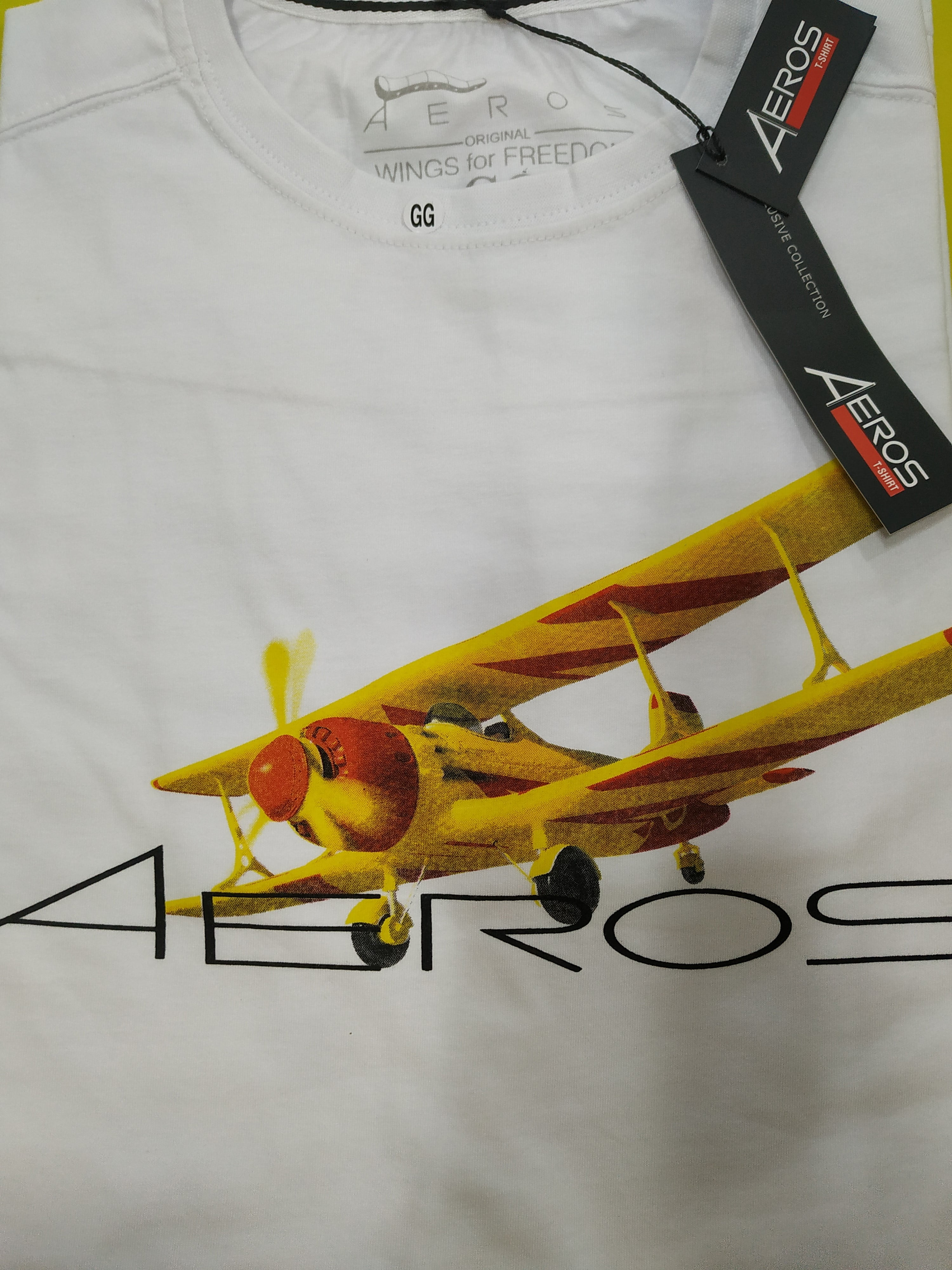 Camisa Aeros Biplano - branca