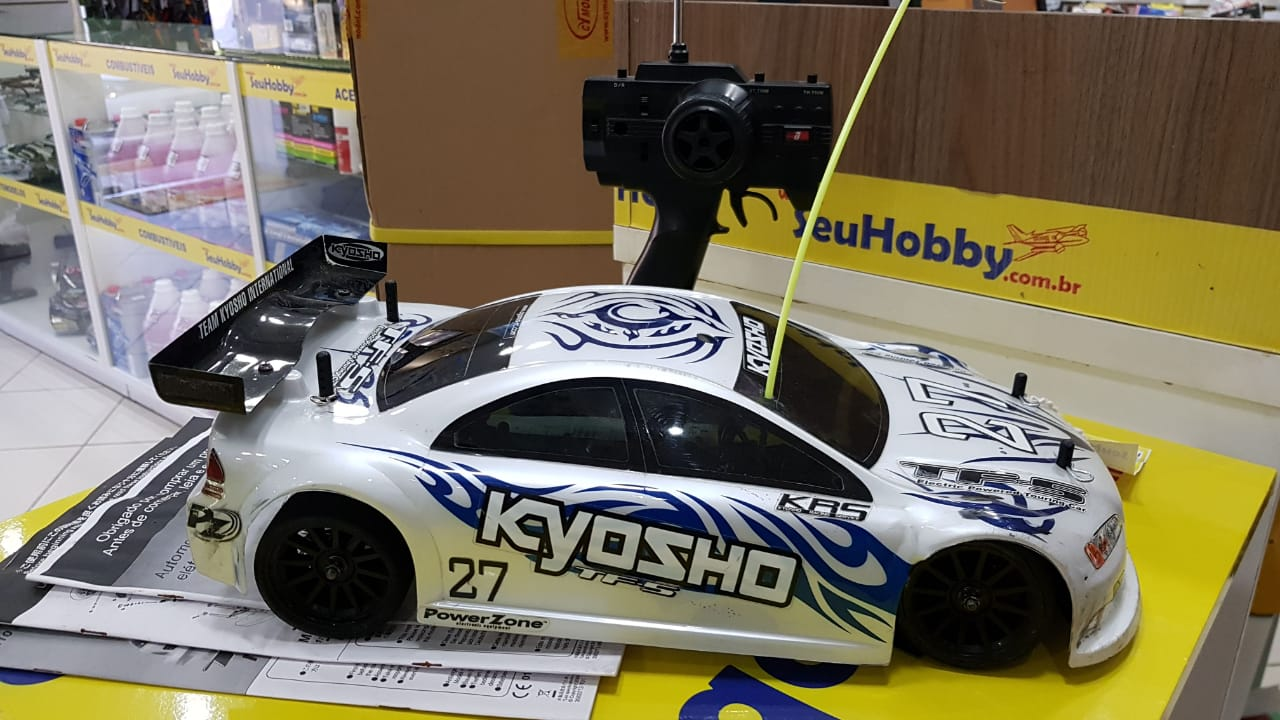 USADO - AUTOMODELO KYOSHO FAZER FW5 ELETRICO BRUSHLESS