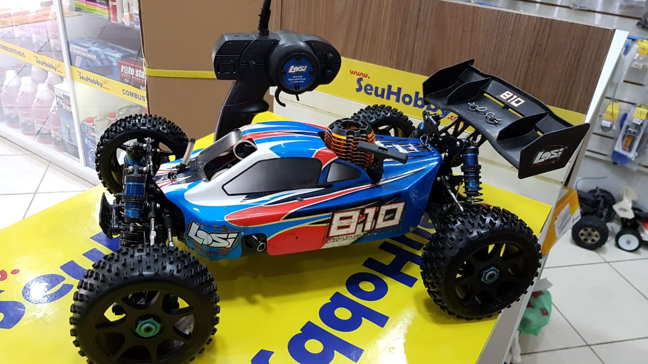 USADO - AUTOMODELO LOSI EIGHT 1/8 - NITRO