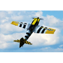 "Aeromodelo Extreme Flight 104""  MXS-EXP Heavy Metal Scheme"