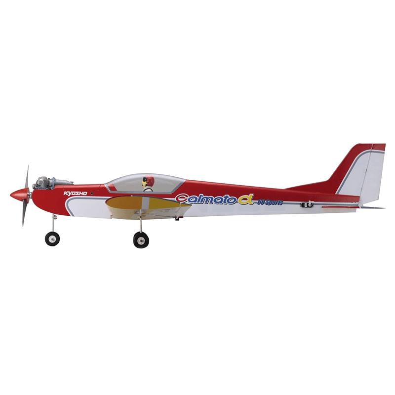 Aeromodelo Kyosho 1:5 Rc Ep/Gp Calmato Alpha 60 Sports Verme