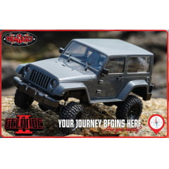 AUTOMODELO CRAWLER RC4WD 1/18 GELANDE II RTR W/BLACK ROCK BODY SET RTR0037