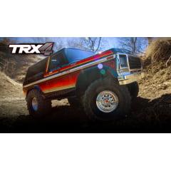 AUTOMODELO CRAWLER TRX-4 BRONCO RANGER XLT RED 820464