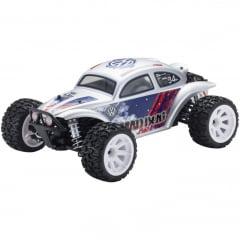 Automodelo Kyosho 1:10 Rc Ep Rs Mad Bug 4Wd Vei Prata Rádio Kt231P Bateria Carregador
