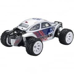 Automodelo Kyosho 1:10 Rc Ep Rs Mad Bug 4Wd Vei Prata Rádio