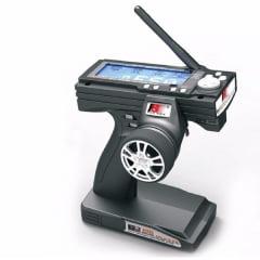 FLY SKY Rádio Fs-gt3b 2.4ghz 3-canais Digital Automodelo Naut