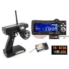 FLY SKY Rádio Fs-gt3b 2.4ghz 3-canais Digital Automodelo Na