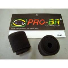 PRO-BR - ESPUMA PARA FILTRO AR  2 PC BR 4040