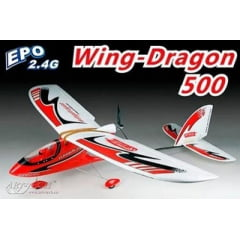AEROMODELO WING-DRAGON 500 CLASS RTF - ELETRICO ENV.: 1400MM