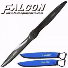 HELICE FIBRA DE CARBONO FALCON 27x12 GAS BLADE PROPELLER