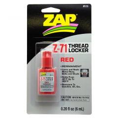 ZAP - PT-71 Trava rosca permanente 6ml Vermelho
