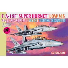 1/144 F/A-18F Super Hornet VFA-11 e VFA-211 (2 em 1)  CÓDIGO: DRA 04610