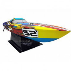 NAUTIMODELISMO LANCHA RACING BOAT DEEP V - BRUSHLESS