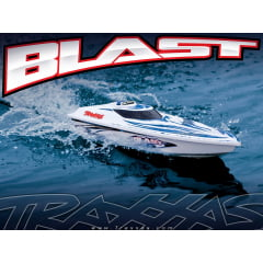 NAUTIMODELO BLAST RTR LANCHA HIGH PERFORMANCE C/ RÁDIO E ESC WATERPROOF