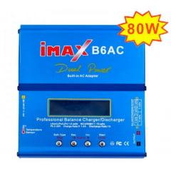 CARREGADOR IMAX B6  80W - AC/DC - 110/220V COM FONTE E CABOS