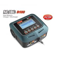 CARREGADOR SKYRC D100 DUAL CHARGE BAL SK 10008903