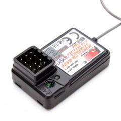 Radio Flysky Gt3-c 2.4 Ghz Prata C/ Receptor C/ Bateria