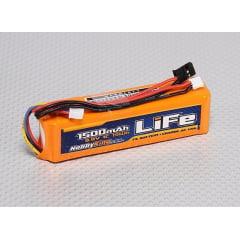 Bateria Life 1500mah 9.9v P/radio Jr/spektrum/futaba/turnigy