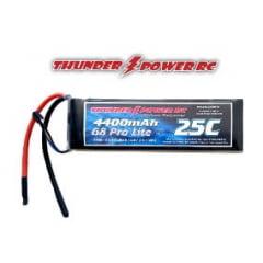 THUNDER POWER - Bateria LiPo 11.1V 4400mAh TPower G6 Pro 25C