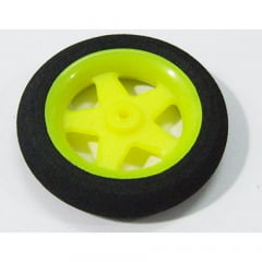 OEM - RODA LEVE 30X7MM - SUPER LIGHT 5 SPOKE WHEEL (PAR)   - VERDE
