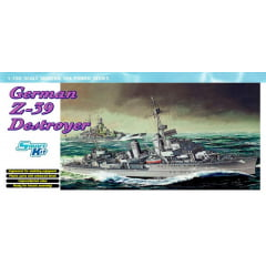 DRAGON - 1/700 German Z-39 Destroyer (Smart kit) - 07103