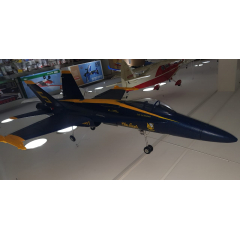 USADO - AEROMODELO JATO F-18 HORNET - ELETRICO
